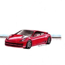 Concept Car_Red